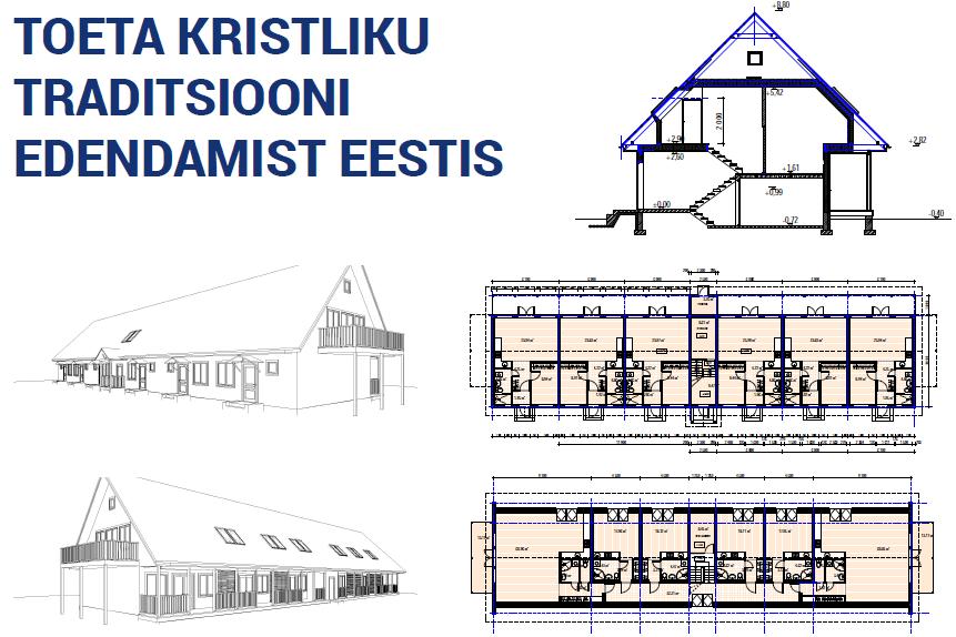 Toeta kristliku traditsiooni edendamist Eestis